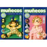Revista Muñecos Y Juguetes De Tela Lote X 12 Con Moldes