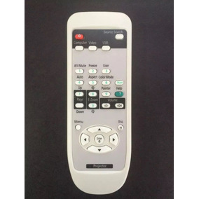 Controle P/ Projetor Epson Powerlite S4 S5 S5+ S6 S6+ S7 S7+