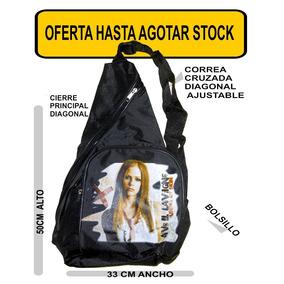 Avril Lavigne Punk Mochila Morral Rock Super Oferta