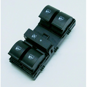 Botão Interruptor De Vidro Quadrúplo Com Trava Idea Original