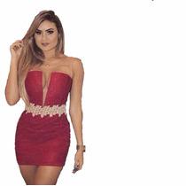 Vestidinho Curto Colado Festa Elegante Lindo #vc4 Panicat