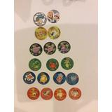 129 Tazos Pokemon, Looney, Etc, Giratazos, Lenticular