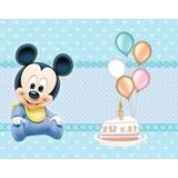 Kit Imprimible Mickey Bebe De Disney Fiesta Cumpleaños Torta