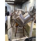 Maquina Mezcladora De Polvos Acero Inoxidable Capacidad 50kg