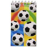 Amscan Fiesta Perfecta Balones De Fútbol Bloc De Notas De L