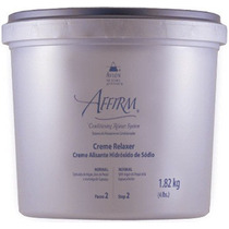 Avlon Affirm Hidróxido De Sódio Creme Relaxer Normal Plus