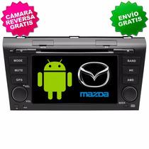 Estereo Gps Android Mazda 3 Pantalla Wifi 3g Mirror Link Bt