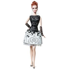 Barbie Collector Laser-leatherette Platinum Nrfb 2014