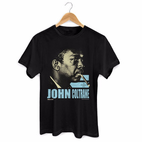 Camiseta Masculina John Coltrane The European Tour - Bandup!