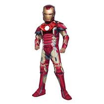 Traje Vengadores De Rubie 2 Edad De Ultron Deluxe Iron Man