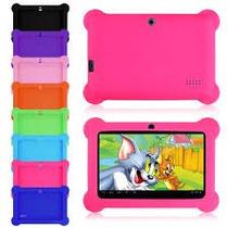 Forro Protector Antigolpe Silicona Para Tablet 7 Colores Sa