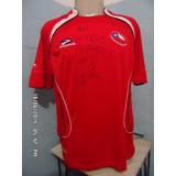 Camisa Da Seleção Do Chile Autografada