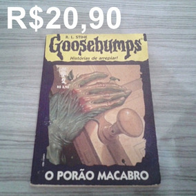 Livro Goosebumps/o Porão Macabro/editora Abril