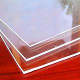 Lamina De Acrílico Transparente 4.8mm Retazos. De 20 Cm/2 Mt