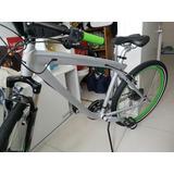 Bicicleta Bmw Bike Cruise Prata E Verde Shimano Alivio