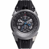 Relógio Orient Flytech Titânio Puls. Borracha Mbtpc003