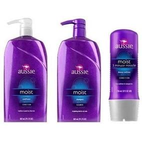 Kit Aussie Shampoo E Cond 865ml + 3 Minute Miracle 236ml