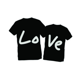 Camisetas Personalizadas Namorados Amor Love Casal