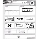 Juego Completo Empacadura Chevrolet Chevette 1.4l 1.6l 81-95