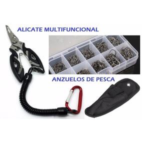 Anzuelos Pesca Y Alicate Multifunción