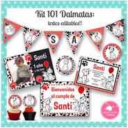 Kit 101 Dalmatas