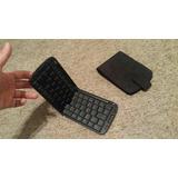 Teclado Plegable Bluetooth Para Iphone / Ipad / Smartphone