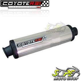 Escape Ponteira Coyote Rs Alumínio Kart Motor 4 Tempos 13 Hp