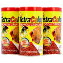 Ração Tetra Color Tropical Granules 300 Gramas Para Peixes