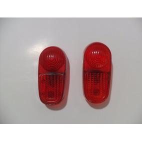 Lente Pisca Seta Traseira Gordini Farolete Lanterna Vermelha