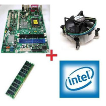 Kit Placa Mãe Msi Ms-7352 Socket Lga 775 Ddr2 Dual Core+1gb