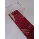 Caja De Acrílico 10x10x10 Para Mini Maquetas Cubierta