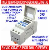 Temporizador Timer Digital Programable De Eventos
