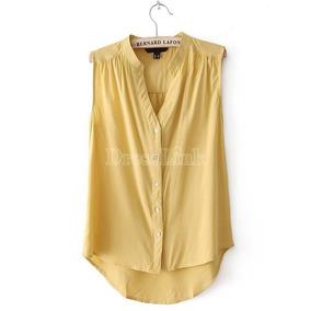 Blusa Importada De Asia Color Amarillo