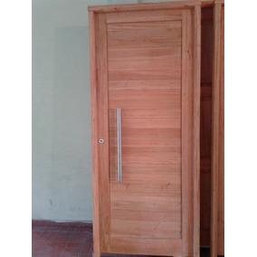 Puerta de madera para exterior moderna machimbrada modelo 22 aberturas en mercado libre argentina - Modelos de puerta de madera ...