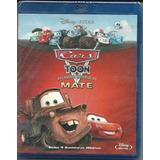 Blu Ray Cars Toon - As Grandes Histórias Do Mate - Disney