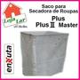 Saco Para Secadora De Roupas Enxuta Plus, Plus 2, Master Std