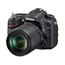 Nikon D7100 D 7100 Kit 18-105mm Vr 24.1mp Lcd 3.2 Local Gtia