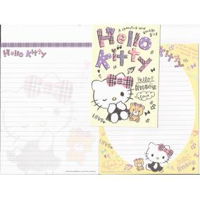 Lote De Papéis Carta Importados *hello Kitty* - Lote 08
