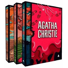 Box 2 Coleção Agatha Christie Com 3 Volumes