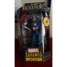 Capitán América Marvel Legends Icon Series 12 Pulgadas Nuevo