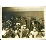 Antiga Foto Colegio Militar Soldados 1927 Tren Caras Caretas