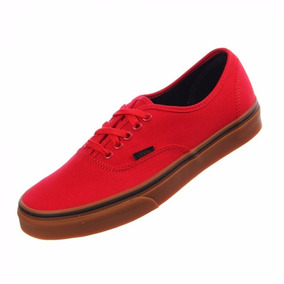 vans rojo authentic