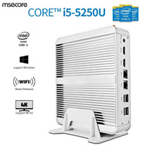 Mini Pc Servidor Mikro Portable I5 Ssd250gb,16gram, 2x Rj-45