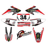 Kits Adhesivos Graficos Para Motos Honda Crf 230, Stickers