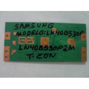 Placa T Com Tv Samsung Lcd Modelo: Ln40b530p.