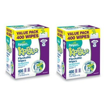 Pampers Kandoo Toallitas Desechables Wc, 2 Packs, Sensitive