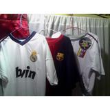 Franelas De Futbol Barcelona La Vinotinto Real Madrid