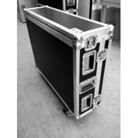Flight Case Para Allen Heath Qu32 Com Rodas E Cablebox
