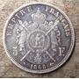 Moneda Napoleon Iii 5f Plata 1868 Muy Buen Estado