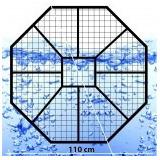 Base Caño Recticulado Para Tanques De Agua Eternit E1